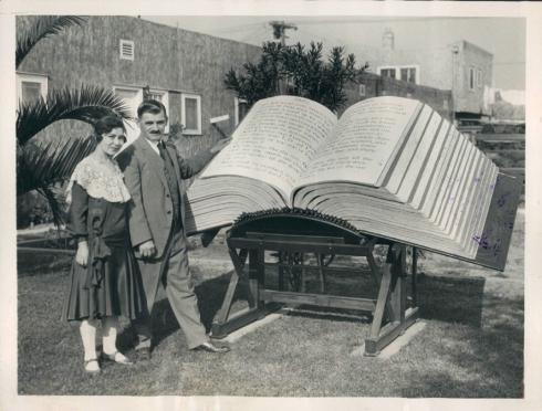 world's largest bible