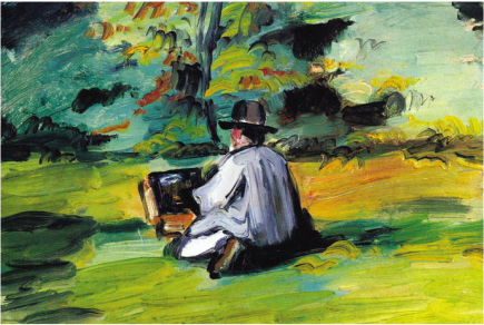 painter at work cezanne