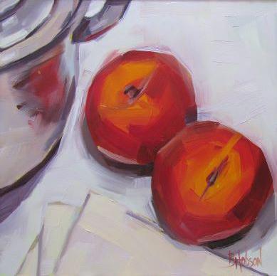 peaches art