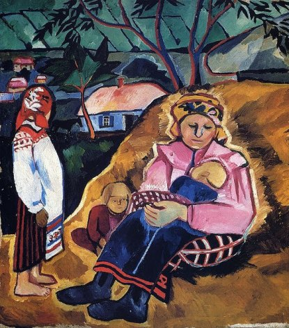 goncharova_mother