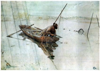 carl larrson fishing
