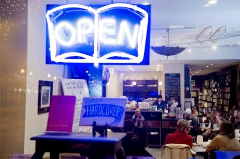 open bookstore