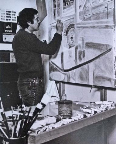 ralph in studio