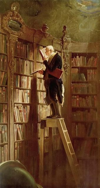 Carl_Spitzweg_bookworm