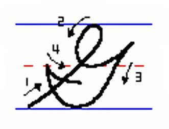 cursive_G