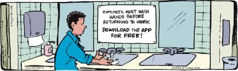 washing app