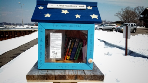 little free library PW
