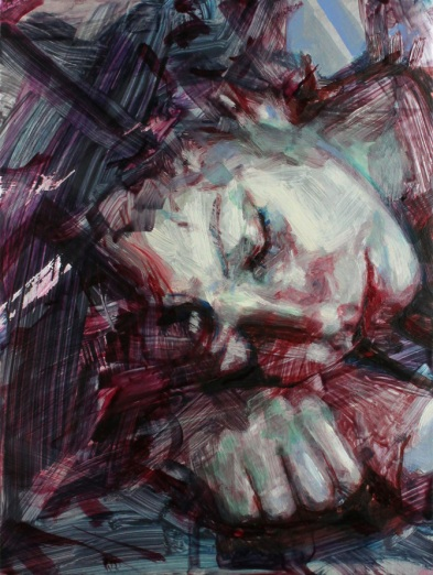 study of ellie sleeping_oconnor