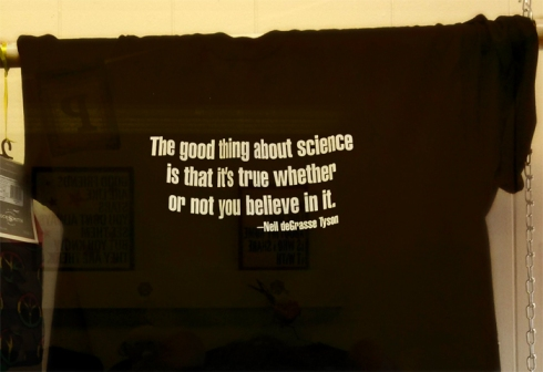 good thing about science