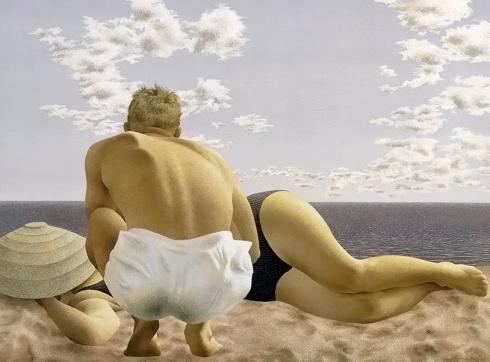 colville_couple on a beach 2